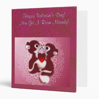 Happy Valentine's Day Now Go Get A Room Binder