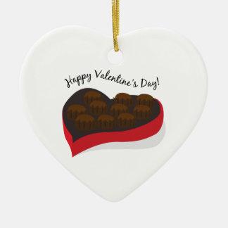 Happy Valentine's Day! Christmas Tree Ornaments