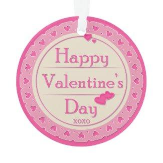 Happy Valentine's Day Ornament