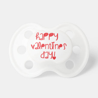 Happy Valentines Day Baby Pacifiers