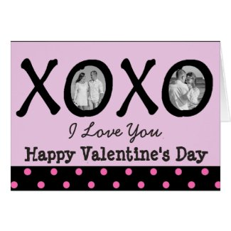 Happy Valentine's Day Personalized Card with Photo