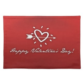 Happy Valentines Day Placemat