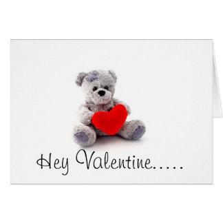 Happy Valentine's Day Playful Romance Card