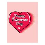 Happy Valentine's Day Post Card