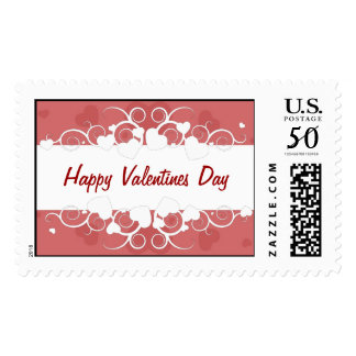 Happy Valentines Day Postage