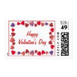 Happy Valentine's Day Postage Stamps