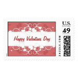 Happy Valentines Day Postage Stamps