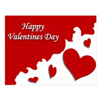 Happy Valentines Day Postcards