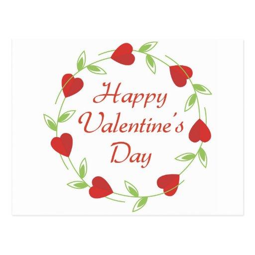 Happy Valentine's Day Postcard