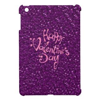 happy Valentines Day, purple iPad Mini Case