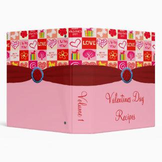 Happy Valentines Day Recipe Binder