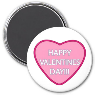 """Happy Valentine's Day"" Refrigerator Magnet"