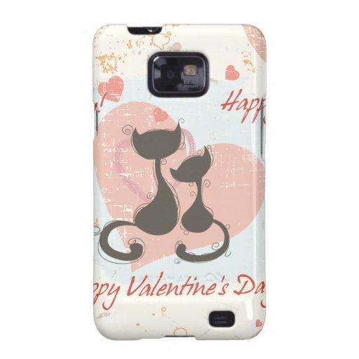 Happy Valentine's Day Samsung Galaxy SII Case