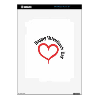 Happy Valentines Day Skins For iPad 2