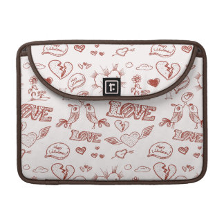 Happy Valentine's Day Sleeve For MacBook Pro