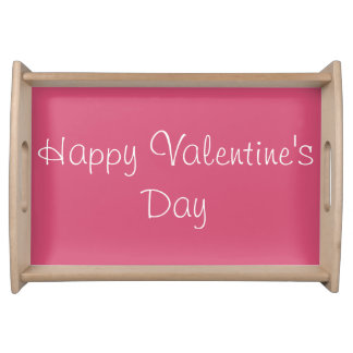Happy Valentine's Day Small Serving Tray