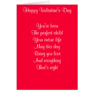 Happy Valentine's Day son Greeting Cards