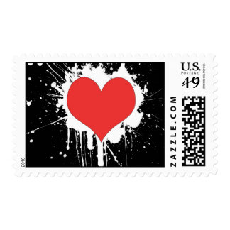 Happy Valentine's Day Stamps. Postage Stamp