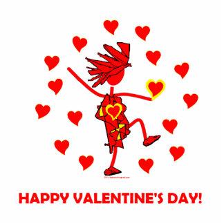 Happy Valentine's Day Statuette
