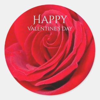 Happy Valentines Day Sticker