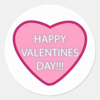 """Happy Valentine's Day!!!"" Stickers"