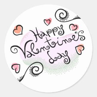 Happy Valentine's Day Stickers