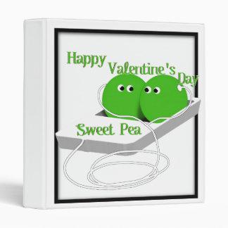 Happy Valentine's Day, Sweet Pea Binder