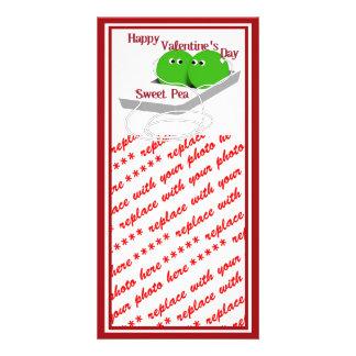 Happy Valentine's Day, Sweet Pea Card