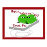 Happy Valentine's Day, Sweet Pea Post Cards