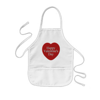 Happy Valentines Day T-shirts and Gifts Kids' Apron