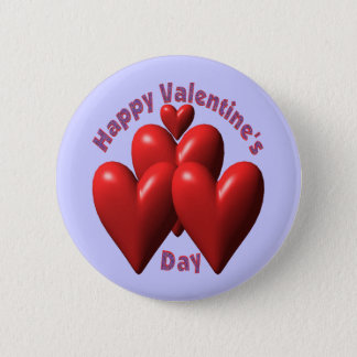 Happy Valentines Day T-shirts and Gifts Pinback Button