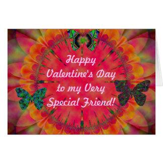 Happy Valentine's Day To My Friend Card