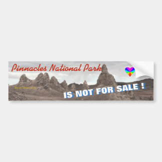 HAPPY VALENTINES DAY TO PINNACLES NATIONAL PARK BUMPER STICKER