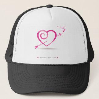 , happy Valentines day Trucker Hat