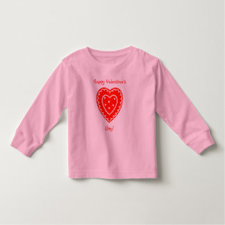 Happy Valentine's Day Toddler T-shirt