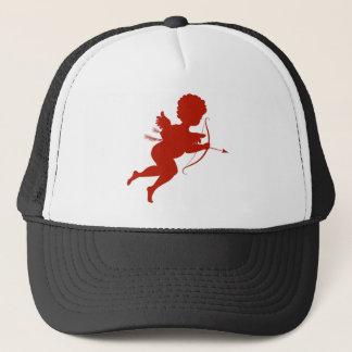happy valentines day vintage old school love trucker hat