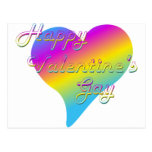 Happy Valentine's Gay Postcard
