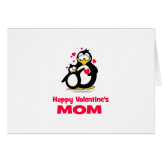 Happy Valentine's  Mom Greeting Card