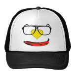 Happy Valentine's Pop Art Smiley Face Trucker Hat