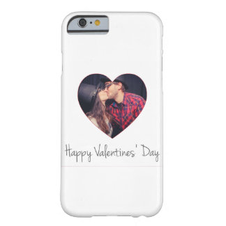 Happy Valentines Red Heart   Add Photo Barely There iPhone 6 Case