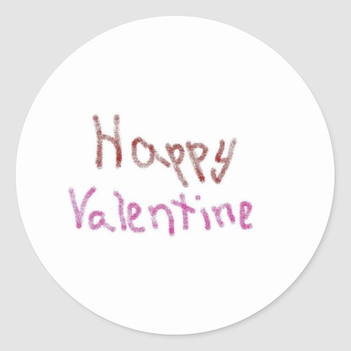 happy valentines stickers
