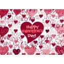 Happy Valentine'sDay Card card