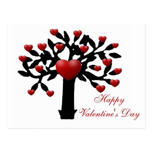 Happy Valentines's Day Postcard