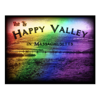 Happy Valley Massachusetts Postcard