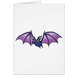 happy vampire bat cards