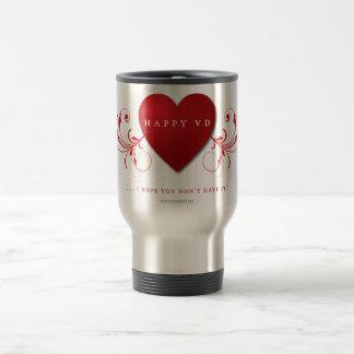 Happy VD Travel Mug