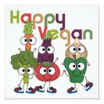 Happy Vegan Invitation