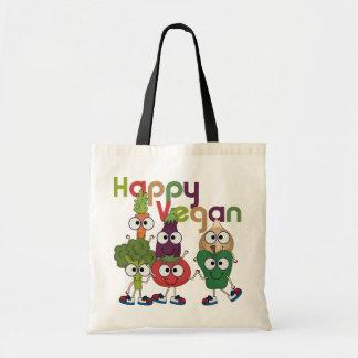 Happy Vegan Tote Bag
