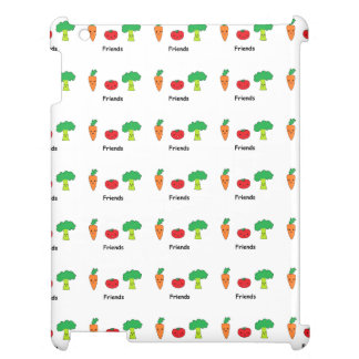 Happy Vegetable Friends Case For The iPad 2 3 4