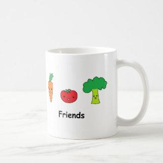 Happy Vegetable Friends Coffee Mug